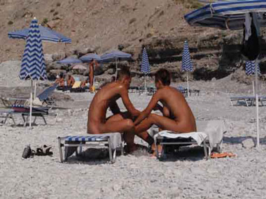 from Lewis greek women nude beaches